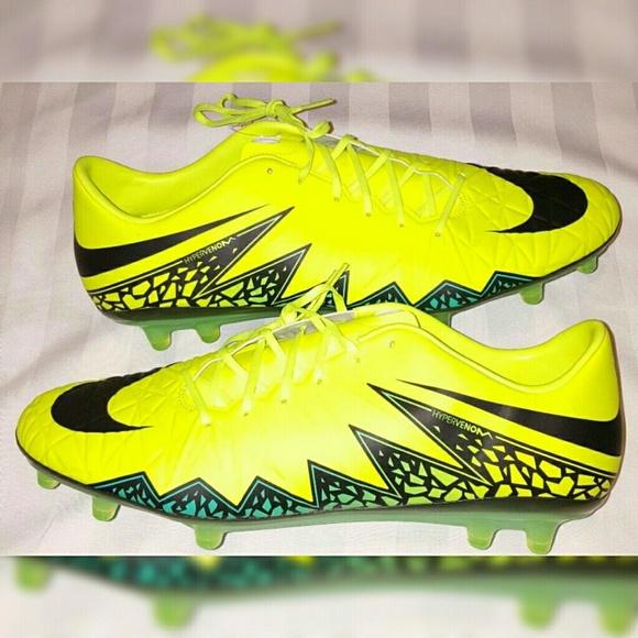 Nike Hypervenom Soccer Cleats Men Sizes 12, 13